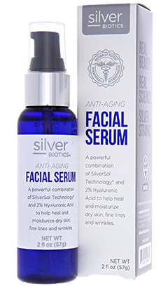 SilverBiotics® Anti-aging Facial Serum 2oz