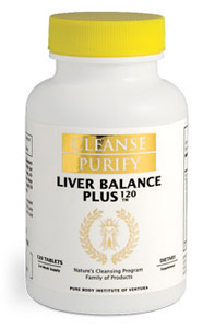 Liver Balance Plus - to Help Maintain The Balance of This Major Organ Essential