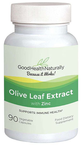 Olive Leaf Extract with Zinc